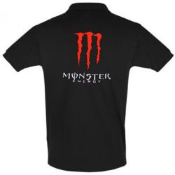Футболка Поло Monster Energy Logo - FatLine