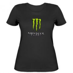 Женская Monster Energy Logo - FatLine