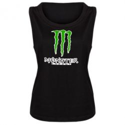 Женская майка Monster Energy Logo - FatLine
