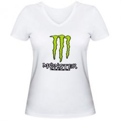 ������� �������� � V-�������� ������� Monster Energy Logo