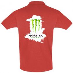 Футболка Поло Monster Energy Paint - FatLine