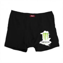 Мужские трусы Monster Energy Paint - FatLine