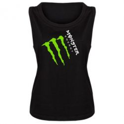 Майка жіноча Monster Energy під нахилом