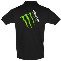 Футболка Поло Monster Energy под наклоном