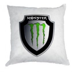 Подушка Monster Energy шеврон