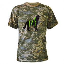 ����������� �������� Monster Energy Wolf - FatLine