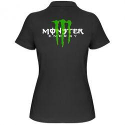 Женская футболка поло Monter Energy Classic - FatLine