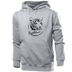 Толстовка Морда тигра - FatLine