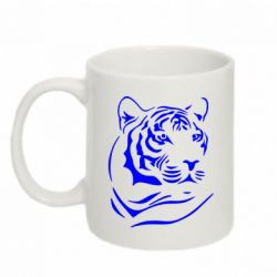 Кружка 320ml Морда тигра - FatLine