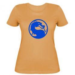 Женская футболка Mortal Combat - FatLine