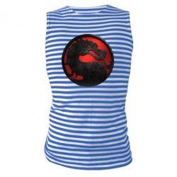 Майка-тельняшка Mortal Kombat Logo