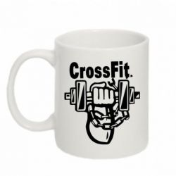 Кружка 320ml Мощный CrossFit - FatLine