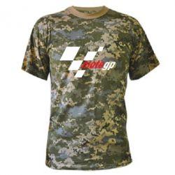 Камуфляжная футболка MOTO GP - FatLine