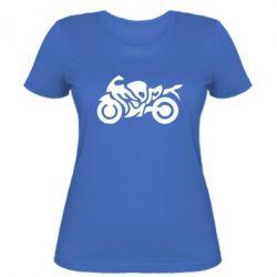 Жіноча футболка MOTO SPORT - FatLine