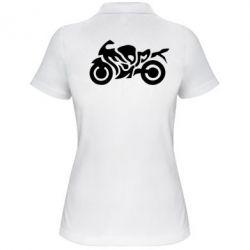 Женская футболка поло MOTO SPORT - FatLine