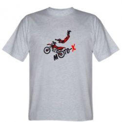 Мужская футболка Moto-X - FatLine