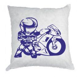 Подушка Мотоциклист - FatLine