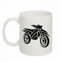 Кружка 320ml Motocross Bike