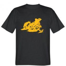 Мужская футболка Мотокросс лого - FatLine