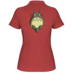 Женская футболка поло Мой сосед Тоторо - FatLine