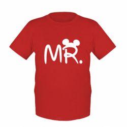 Детская футболка Mr. - FatLine