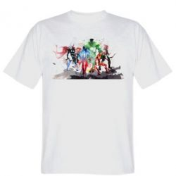 Мужская футболка Мстители Арт - FatLine
