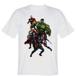 Мужская футболка Мстители Фан Арт - FatLine