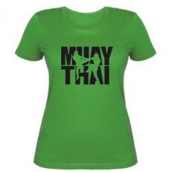 Женская футболка Муай Тай - FatLine