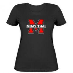 Женская футболка Muay Thai Big M - FatLine