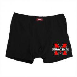 Мужские трусы Muay Thai Big M - FatLine