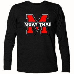Футболка с длинным рукавом Muay Thai Big M - FatLine