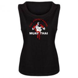 Женская майка Muay Thai Full Contact - FatLine