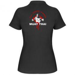 Женская футболка поло Muay Thai Full Contact - FatLine