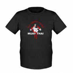 Детская футболка Muay Thai Full Contact - FatLine