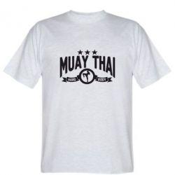 Мужская футболка Muay Thai Hard Body - FatLine
