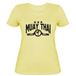 Женская футболка Muay Thai Hard Body - FatLine