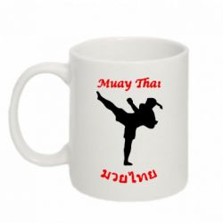 Кружка 320ml Muay Thai иероглифы - FatLine