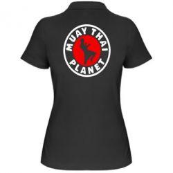 Женская футболка поло Muay Thai Planet - FatLine