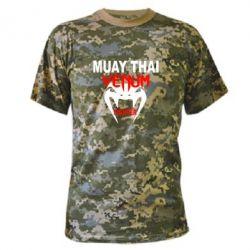 Камуфляжная футболка Muay Thai Venum Fighter