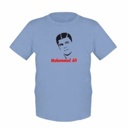 Детская футболка Muhammad Ali - FatLine