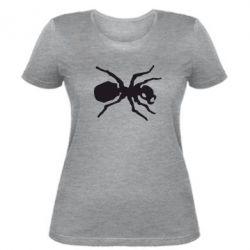 Женская футболка Муравей - FatLine