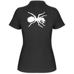 Женская футболка поло Муравей