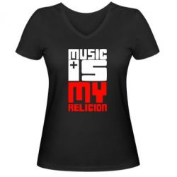 ������� �������� � V-�������� ������� Music is my religion