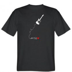 Мужская футболка Music love - FatLine