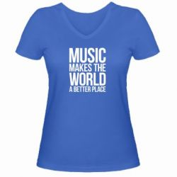 ������� �������� � V-�������� ������� Music makes the world a better place - FatLine