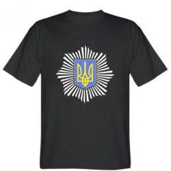 Мужская футболка МВС України - FatLine