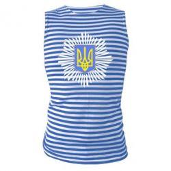 Майка-тельняшка МВС України - FatLine