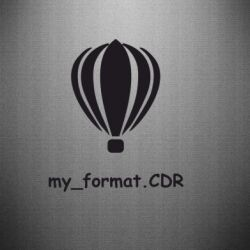 Наклейка My format CDR - FatLine