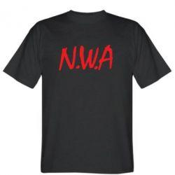 Мужская футболка N.W.A Logo - FatLine
