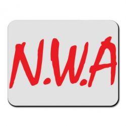 Коврик для мыши N.W.A Logo - FatLine